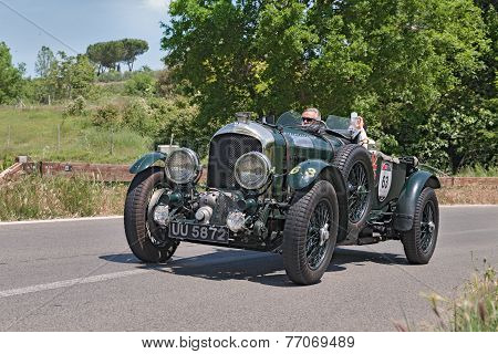 Bentley 4.5 Litre S.c. In Mille Miglia 2014