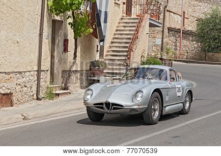 Vintage Concept Car Alfa Romeo 2000 Sportiva