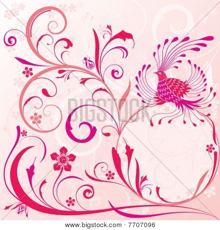 A fairy bird