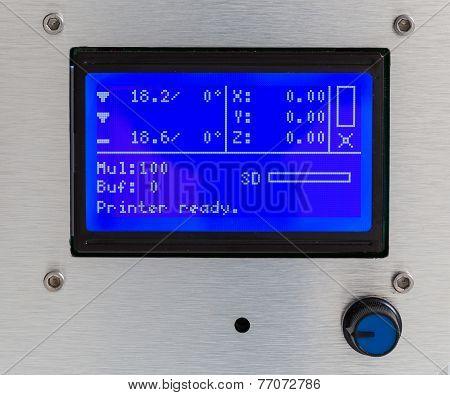 3D Printer Lcd Screen Macro