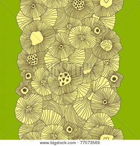 Stylish spring concept background. Seamless pattern can be used for wallpaper, pattern fills, web page backgrounds, surface textures.