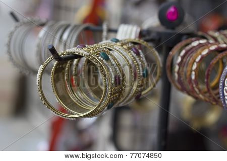 bangles at display