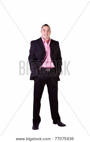 Handsome Hispanic Businessman
