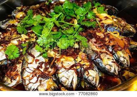 Mackerel Fish Tamarind Sauce