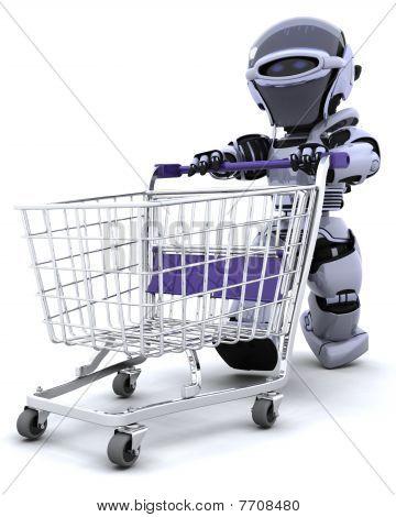 Robô de compras