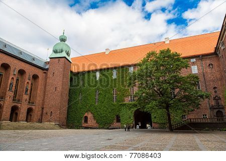 City Hall Castle In Stockholm, Sweden