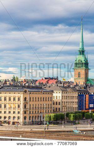 Gamla Stan, The Old Part Of Stockholm, Sweden
