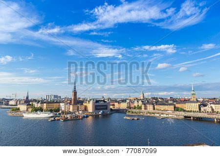 Gamla Stan, The Old Part Of Stockholm, Sweden