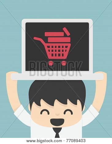On Line Store On Line Shop  Internet Shopping Elements