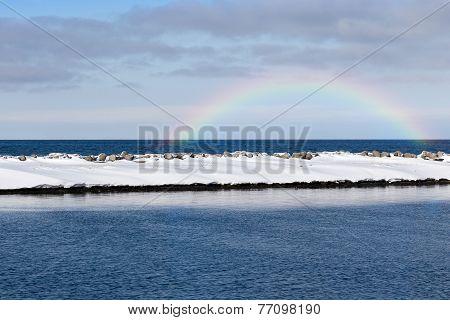 Japan Coastline Scene
