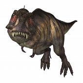 pic of tyrannosaurus  - 3D digital render of a dinosaur Tyrannosaurus isolated on white background - JPG