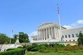 foto of supreme court  - United States Supreme Court Building in Washington - JPG