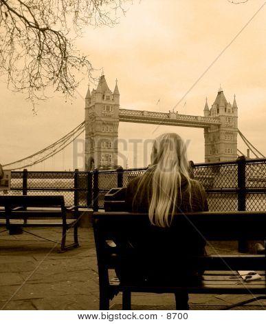 Aged Tower Bridge