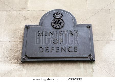 Ministry Of Defence In London