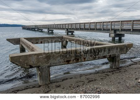 Pier At Dash Point, Washington 2