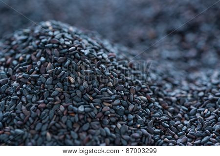 Black Sesame Background