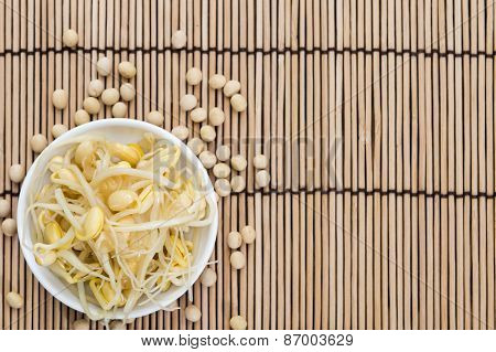 Preserved Soy Sprouts