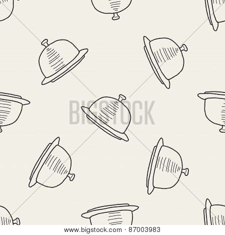 Food Tray Doodle