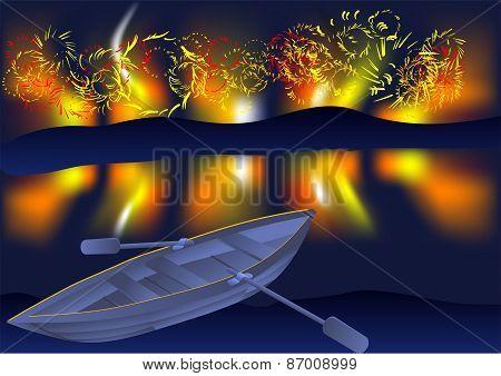 Boat Fireworks