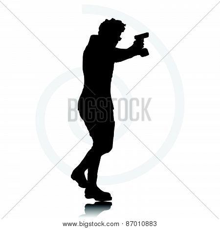 Man With Agun
