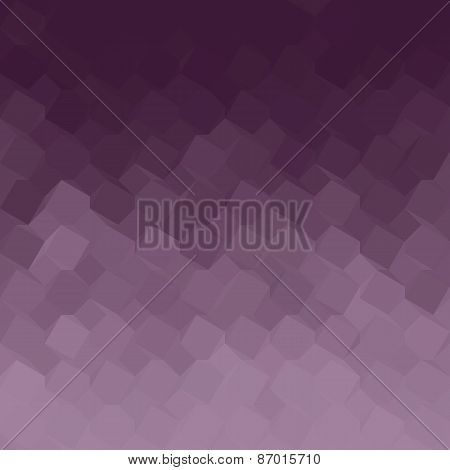 Purple Gradient Geometric Light Effect
