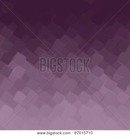 Purple Gradient Geometric Light Effect
