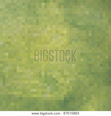 Green Yellow Square Pixel Gradient Grunge Light Effect