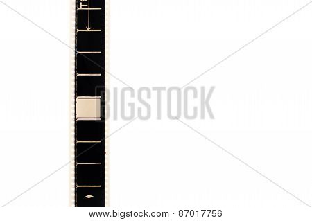 35Mm Movie Filmstrip Vertical Empty Frame And Copyspace