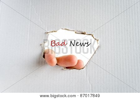Text Concept Bad News