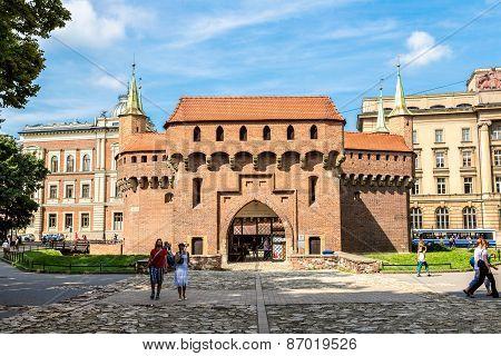 Barbican In Krakow, Poland