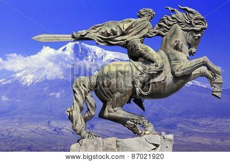 Monument  of  rider