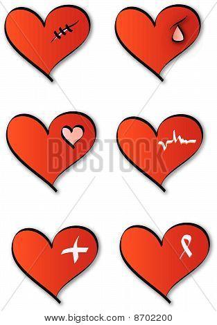 Design of medical hearts