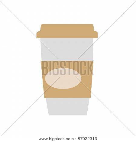 Coffee paper Cup with the inscription