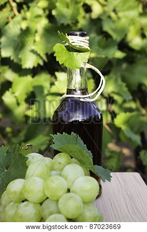 Brandy And Grapes