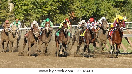 Afleet Express Wins The Travers Stakes