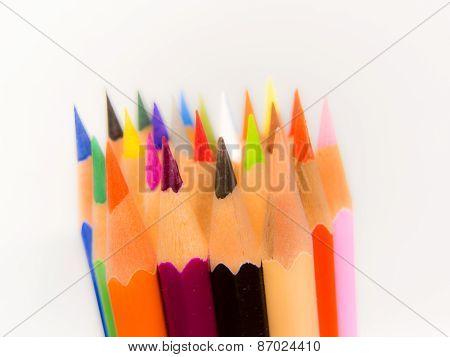 slim crayon tips blur