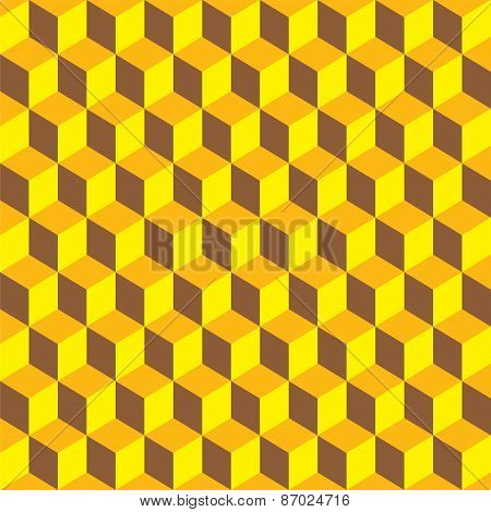 abstract cube design pattern