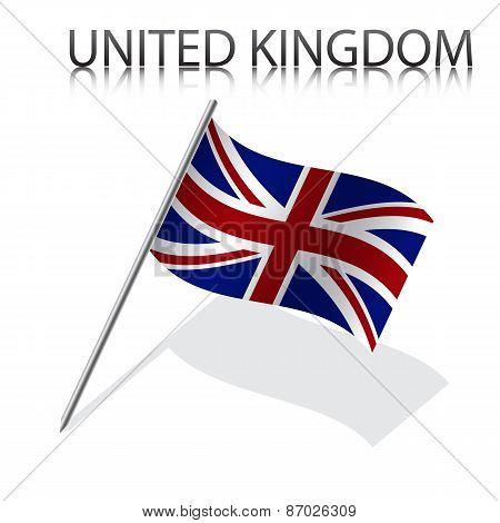 Realistic British flag