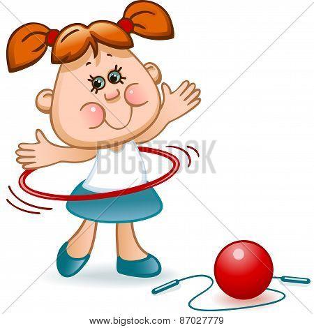 sports schoolgirl