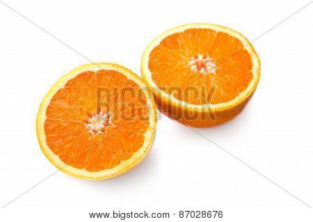 Two Halves Of Orange
