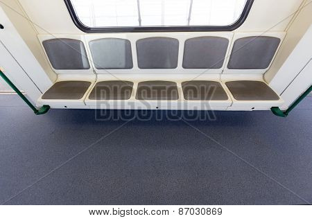 New Subway Train Seats