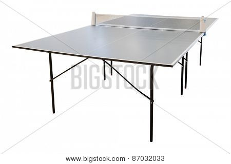 Table tennis in indoor