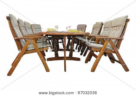The image of a garden furniture