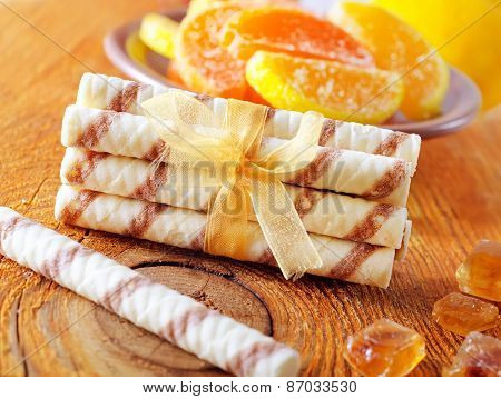 wafer sticks