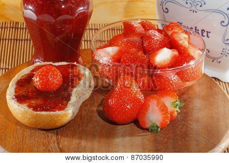 Strawberry, Jam, Marmalade