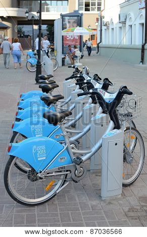 Automated Bike Rental System In Kazan