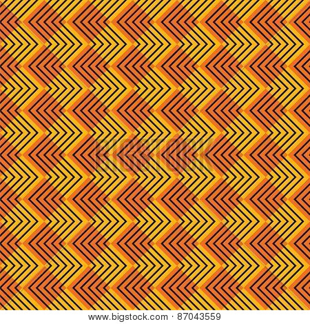 creative zig-zag strip pattern