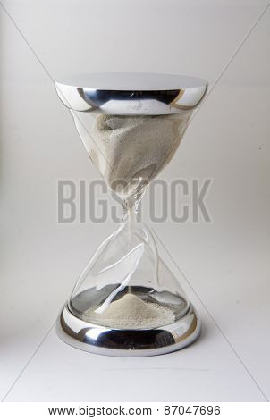 Hourglass Glass And Steel