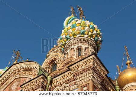 Dome Of The Savior On Spilled Blood