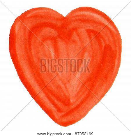 Hand-drawn Varnish Heart